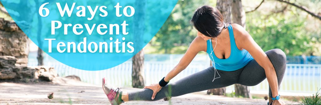 6 Ways to Prevent Tendonitis in Louisiana