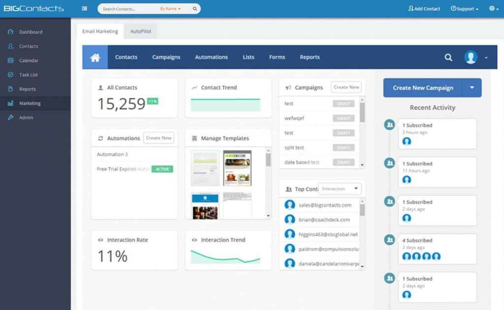 Best crm sales tracking